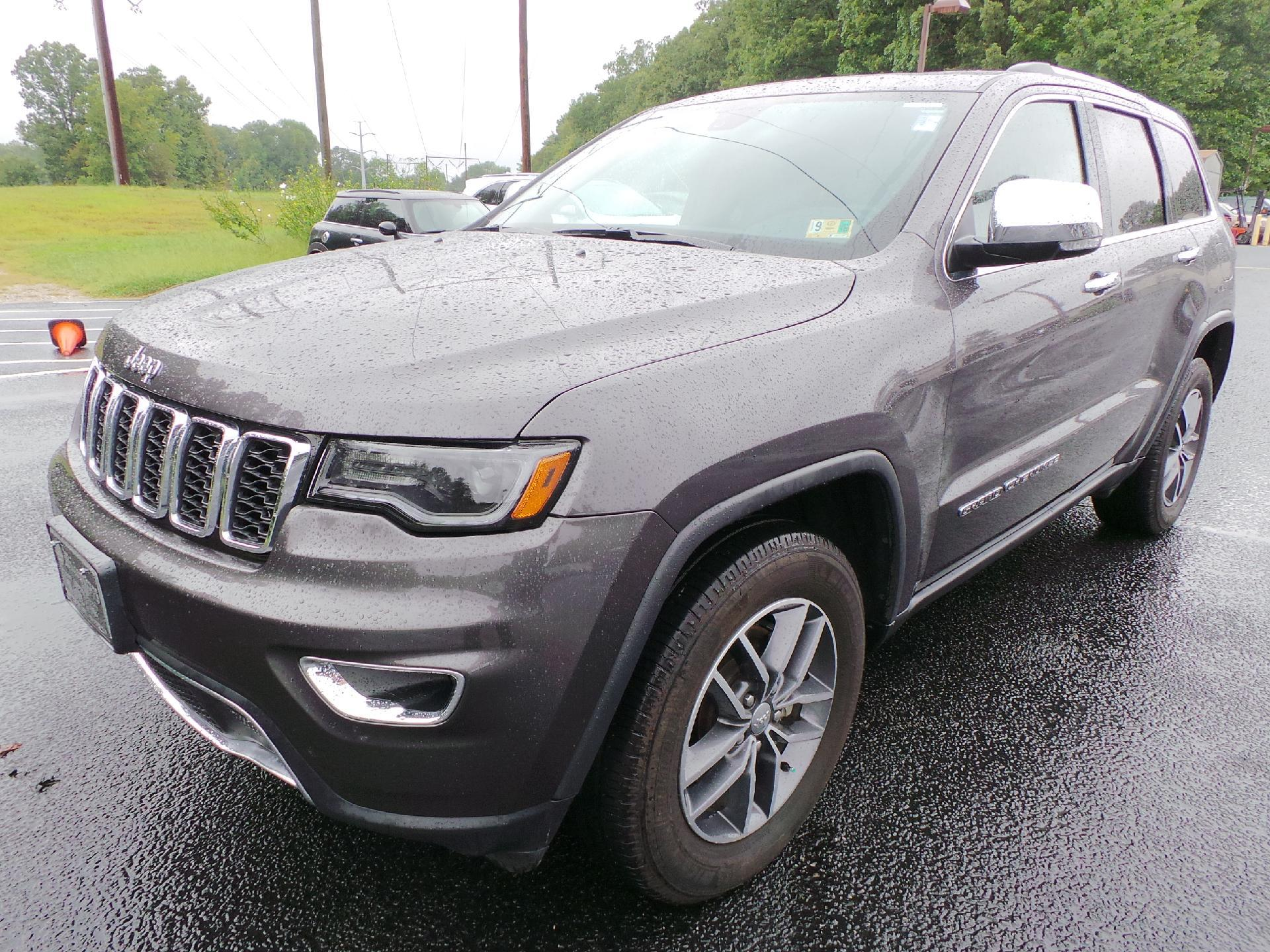 Certified Pre Owned 2018 Jeep Grand Cherokee LIMI
