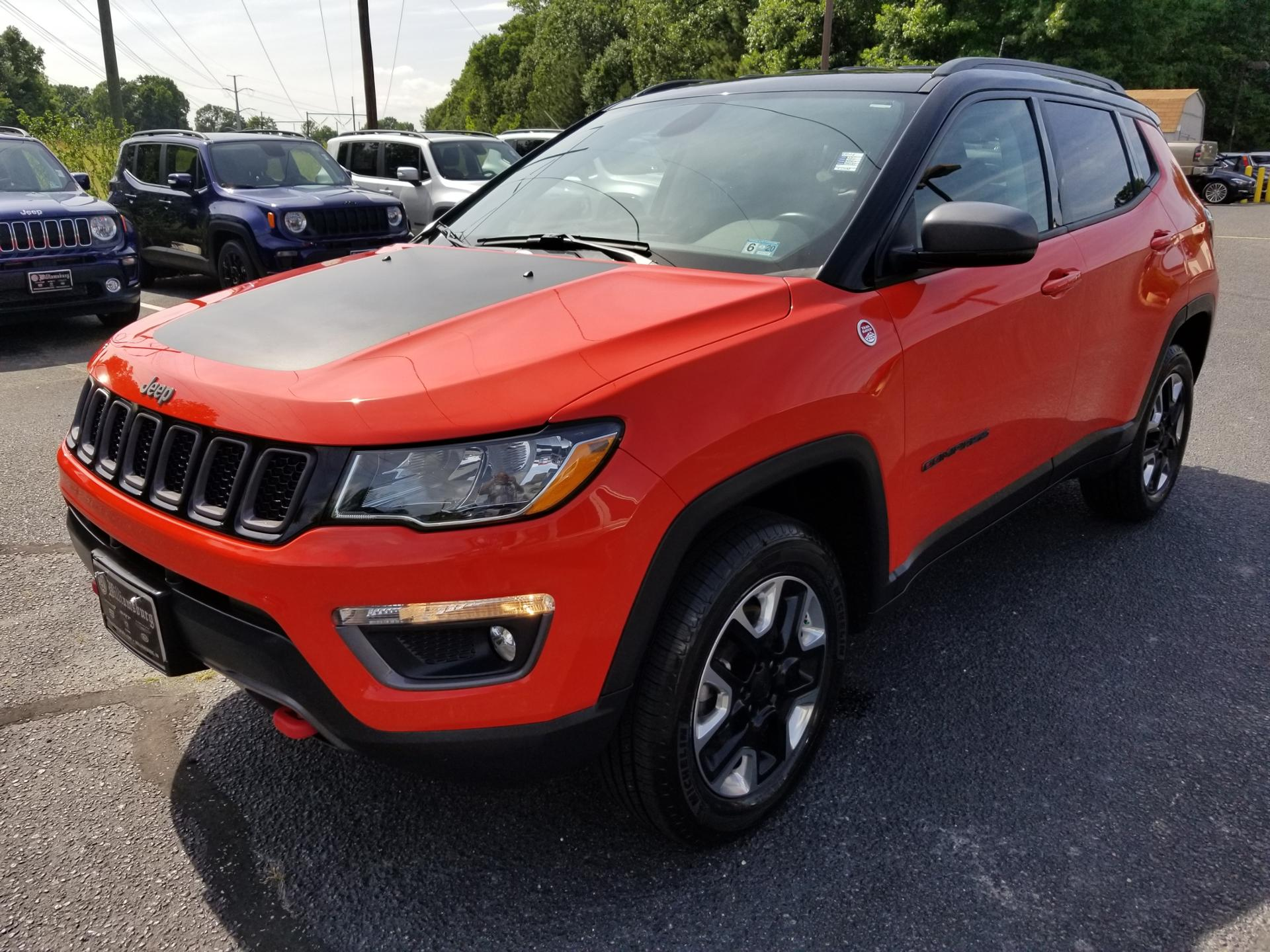 2017 Jeep Compass For Sale >> Pre Owned 2017 Jeep Compass Trailhawk 4wd