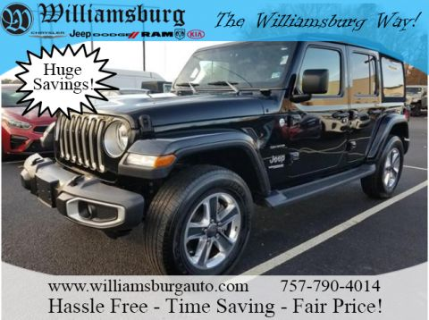 Pre-Owned 2018 Jeep Wrangler Unlimited SAHA