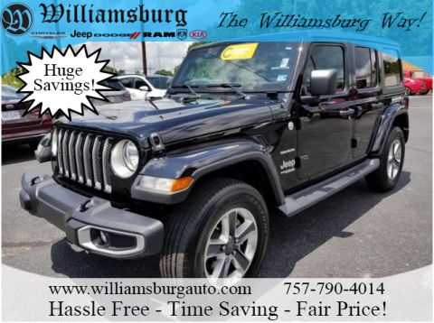 Pre-Owned 2019 Jeep Wrangler Unlimited SAHA